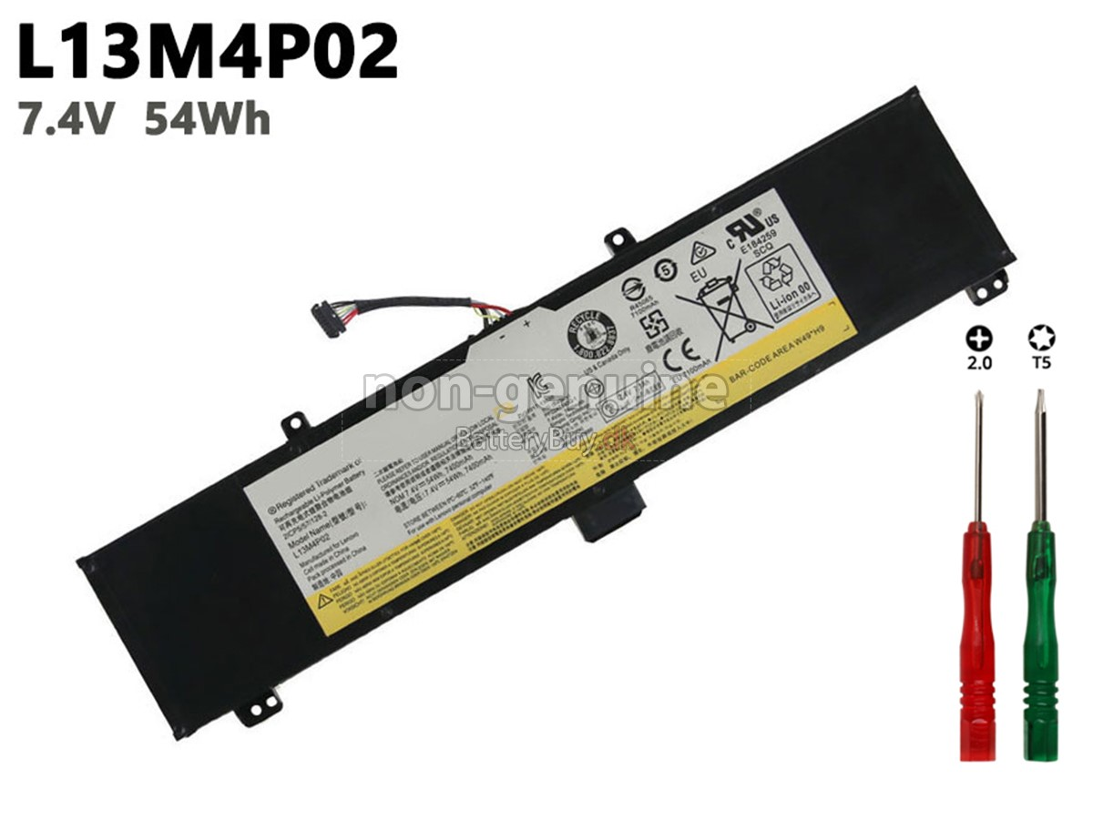 Laptop Batteri til Lenovo Y50 70