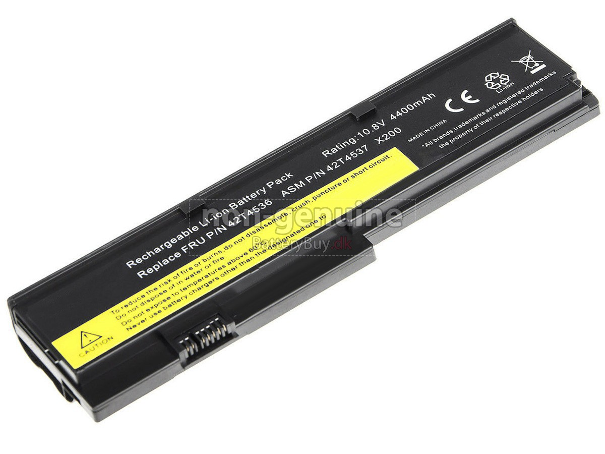 Laptop Batteri til Lenovo ThinkPad X200S 7470